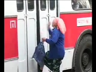 Бабка и троллейбус