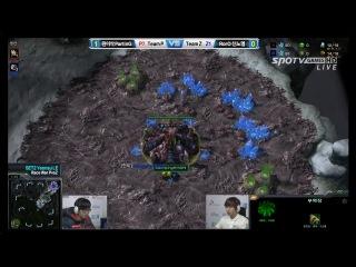 Корея 2 0 Шоуматчи пролиги PvZ