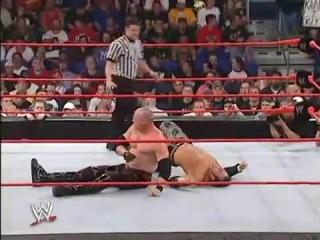 WWE Vengeance 2004 Kane Vs Matt Hardy