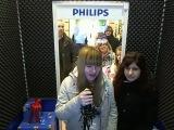 Karina ja Saša Philips record stuudios