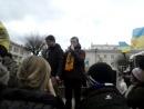 Вінниця 2.12.13 всі студенти зі всіх університетів прийшли відстоювати свої права !!