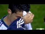 Травма и гол Криштиану Роналду в матче Реал Мадрид - Леванте (11.11.12)