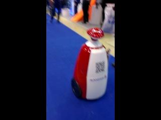 Робот AVANGARD - танцует под музыку)