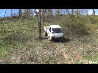 Автомобиль Daihatsu Hijet (Дайхатсу Хайджет). Видео тест-драйв