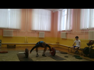 Коношевич Денис.рывок 125 кг.