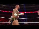 John Cena Hurricanrana to CM Punk - WWE RAW
