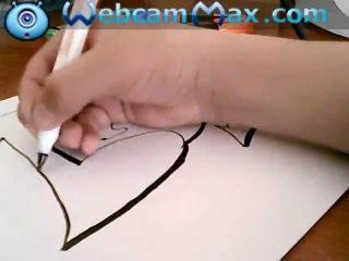 Граффити на бумаге