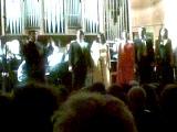 Концерт класса Зураба Соткилава в Малом зале Московской консерватории.Камерный хор Б.Тевлина.30.12.10г