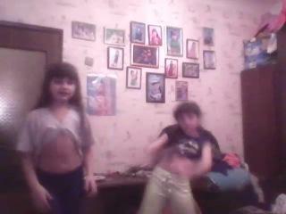Аня и Лиза танец опа ганам стайл