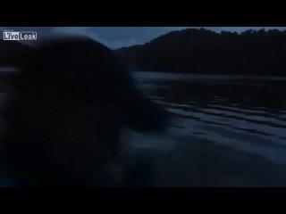 трассирующими пулями по воде