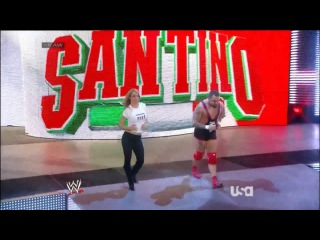 [#My1] Santino Marella & Emma RAW 10/02/2014 Entrance [HD]