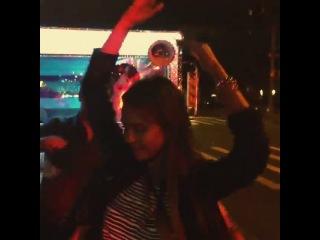 #nyfw #randomnight #heartsrevolution w starring @derekblasberg @lauren_andersen @weheartyoga