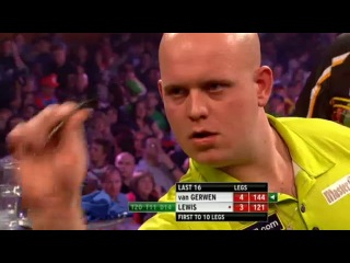 Michael van Gerwen vs Adrian Lewis (Grand Slam of Darts 2013 / Second Round)