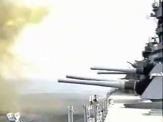 Огонь главного калибра линкора