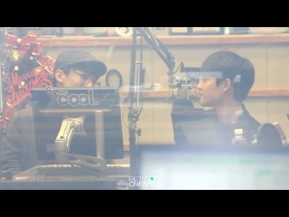 [FANCAM] 131217 Chen & D.O Focus @ KBS-R Cool FM Cho Jungchi & Hareem's Radio
