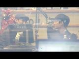 [FANCAM] 131217 Chen & D.O Focus @ KBS-R Cool FM Cho Jungchi & Hareems Radio