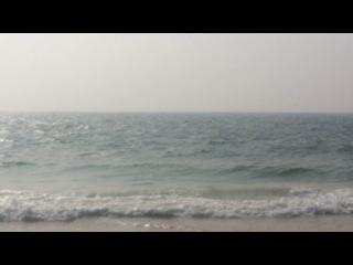 пляж Кандолим ГОА безграничный океан
