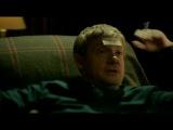 Пьяные Шерлок и Джон играют
