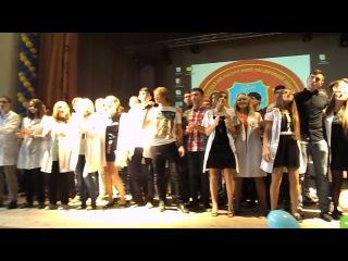 Гимн лицея на посвящении первокурсников (26.10.2013)