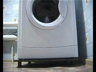 Установка стиральной машины-автомат в частном доме.