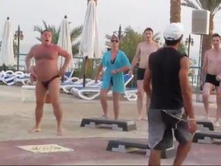 Степ-аэробика в Египте