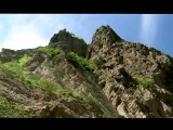 В горах Чечни: Аргунское ущелье.