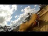 KTM Enduro in action