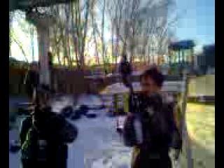 Россия, Чечня, блокпост у Грозного 1994 г.