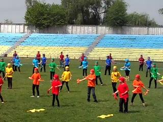 Майданс в Вольногорске школа №3 25 05 2013