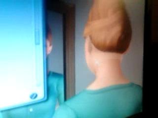Издевательства над героями Sims 3, про девушку