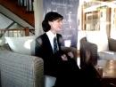 Emma Shaplin en el hotel Panamericano