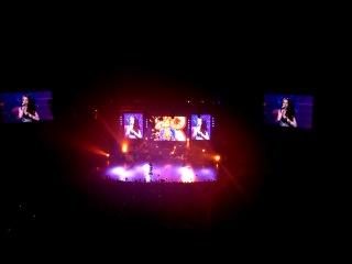 Natalia Oreiro Ria de la Plata Live at Crocus City Hall Moscow 10 12 2013
