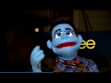 Exclusive Glee Video: Chris Colfer, Darren Criss, Adam Lambert Get 'Felt Up' in Puppet Promo
