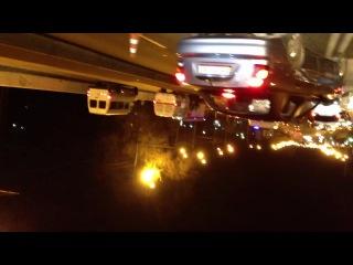 Авария возле карла либкнехта 30.11.12. Где то в 21:00