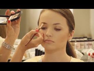 Школа макияжа. Коррекция формы бровей- короткие брови.