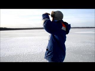 Ловля на флажки,первый лёд 2013-2014 / #1(Вот так Вот)