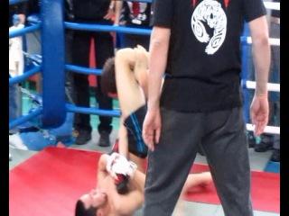 БК Росомаха (Mixfight) - Элдияр Алиев от 04.03.2012