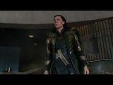 Самый смешной момент из фильма Мстители (Халк и Локи)