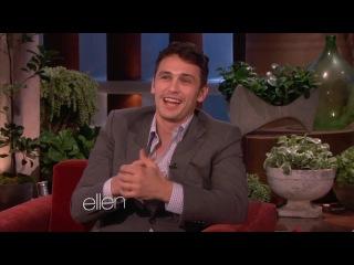 James Franco and His Cat Calendar on Ellen Show
