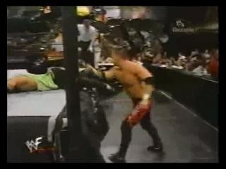 Hardy Boyz & Lita vs Kanyon,Lance Storm & Ivory(WWF Heat 07.10.2001)
