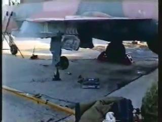 Полёты истребителей МиГ-21 из состава 165-го ОСАП (аэродром Карась (Эмба-5) в Актюбинской обл. (Казахстан))