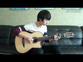 (Yiruma) River Flow in You - Sungha Jung (Classical Guitar)_(360p)