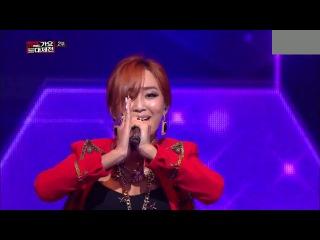 [PERF] 131231 Hyolyn (Sistar) - Sweet Dreams (Beyonce cover) @ MBC Gayo Daejun