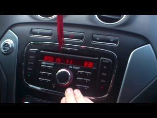 Штатная акустика ford mondeo 4(рестайл)