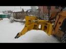 Отвал для снега на фронтальный погрузчик CASE