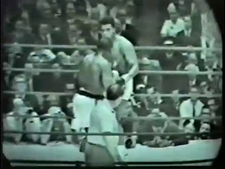 Мухаммед Али Сoнни Листон Бой 1 Muhammed Ali Sonny Liston fight 1