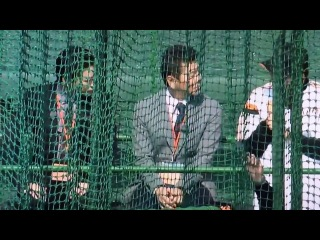 20140202 Kame in Miyazaki with Yomiuri Giants