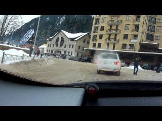 Наша поездка в  Домбай 04.01.2012
