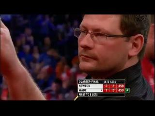 Wes Newton - James Wade (PDC World Darts Championship 2013 / Quarter final)