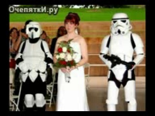 Видеонарезка смешных фотографий со свадеб